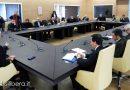 Vertice tra autorità Portuale , Amministrazione Comunale di Brindisi e Consiglieri Comunali sui progetti per il Porto brindisino/Foto