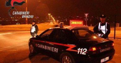 Provincia di Brindisi. Servizio straordinario di controllo del territorio effettuato dai Carabinieri del Comando Provinciale nel weekend.