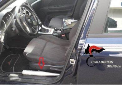 San Pancrazio Salentino. 40enne originario di Campi salentina (LE), in auto con una mazza da baseball accanto al sedile, denunciato.