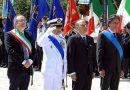 BRINDISI.Celebrato in Piazza Santa Teresa il 73° anniversario della fondazione della Repubblica  in Piazza Santa Teresa.Foto e Videointerviste