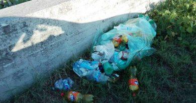 Abbandono di rifiuti e inciviltà nella-zona Invaso del Cillarese