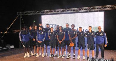 BRINDISI.Grande festa per la presentazione della New Basket -Happy Casa Brindisi
