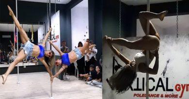 La Pole Dance a Brindisi si chiama Vertical Gym.Foto e Videointerviste