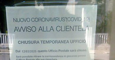 BRINDISI. Coronavirus.Chiuso l' Ufficio Postale a Brindisi al quartiere Casale.