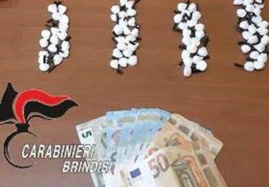 Mesagne. trovati in possesso di droga, armi illegalmente detenute, munizioni e  un'autovettura oggetto di furto, arrestati.