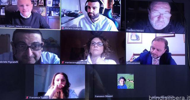 Gruppo partite iva di Brindisi, incontra in videoconfernza i Parlamentari