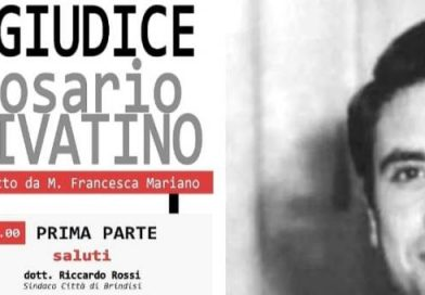 Il reading  teatrale dedicato al Giudice Rosario Livatino